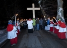 Droga Krzyżowa po ulicach Parafii - rok 2013