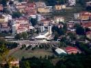 Widok z Krizewac na Medjugorie