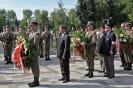 Uroczystości na cmentarzu wojskowym