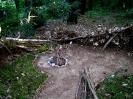 Leśna baza - dzieło naszych dzieciaków